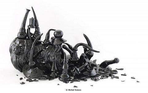 Black figure #56 Warrior