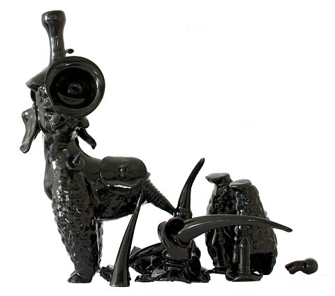 Black figure #59 Warrior