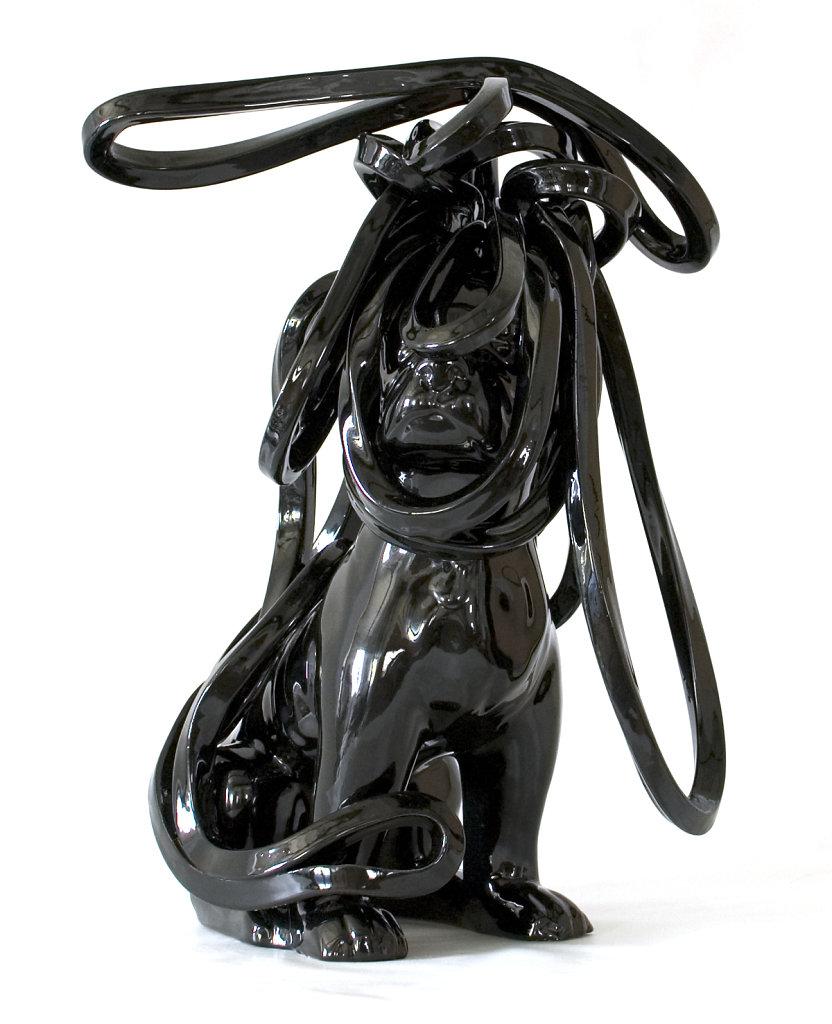 Black Figure #51 Warrior