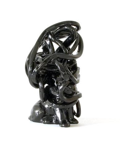 Black figure #50 Warrior