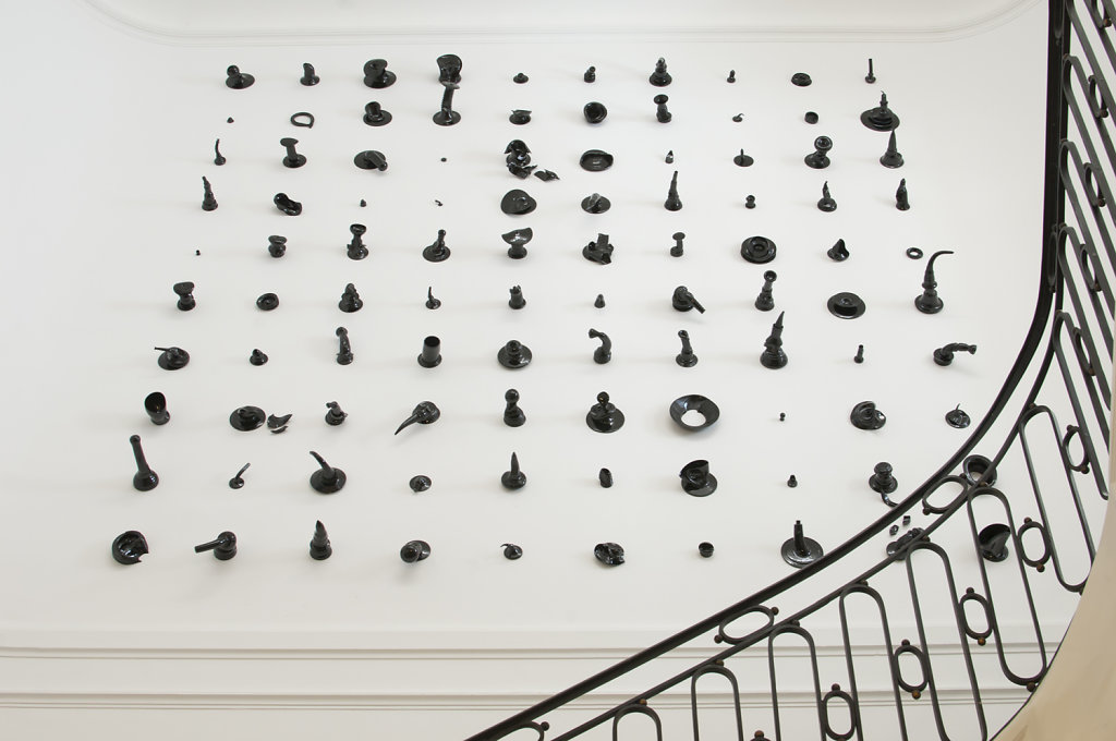 Living with ceramic, Ampersand house & gallery, Brussels, Belgium - 2011 © photo Frederik Vercruyse