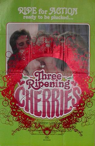 Behind apple series / Three ripening cherries 1979