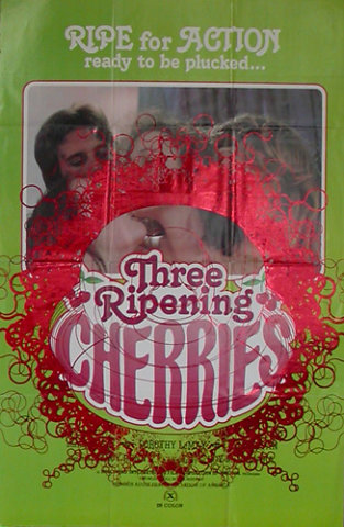 Behind apple series / Three ripening cherries 1979