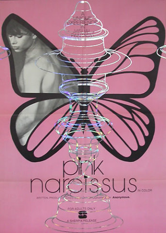 Behind apple series / Pink narcissus #2 1971