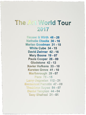 The art world tour