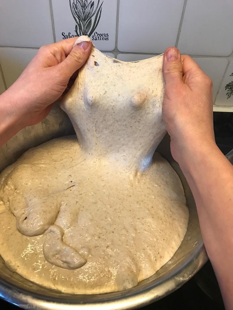 Window Test for Gluten Development